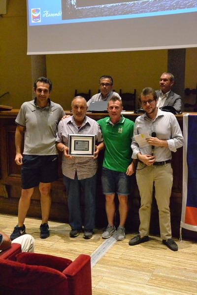 2018 - Pietro Mariano premiato per i 40 anni di attività